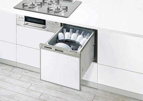 食器洗い乾燥機 スライドオープンの写真
