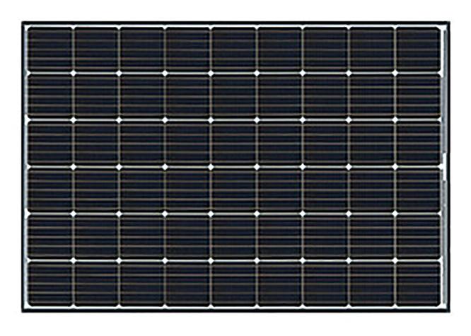 長州産業 太陽電池モジュール 4.26kW 15枚の写真