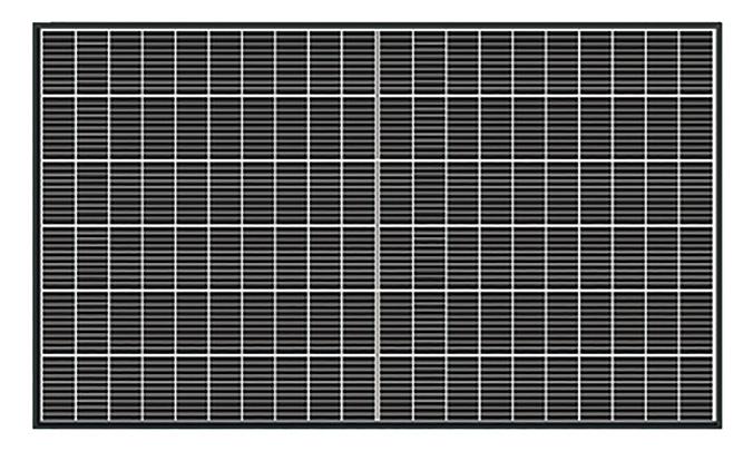 ネクストエナジー 単結晶PERCハーフカットセル 4.08kW 12枚の写真