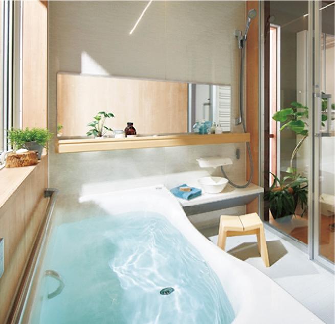 パナソニック バスルーム<br>リフォムスの写真