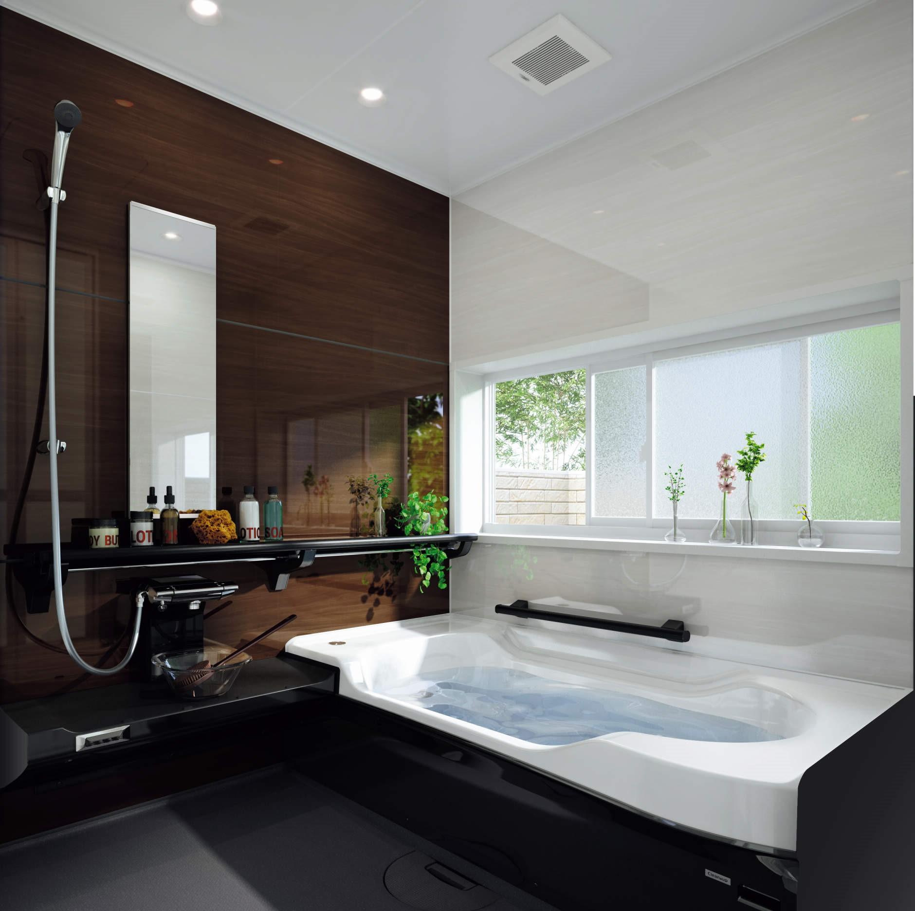 クリナップ バスルーム<br> アクリアバスの写真