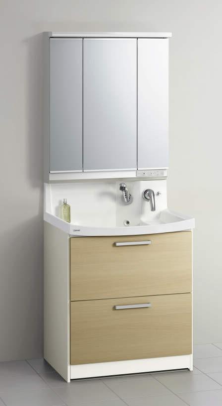 クリナップ 洗面化粧台<br> ファンシオの写真