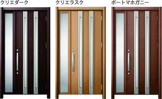 玄関ドアリフォーム リシェントの写真